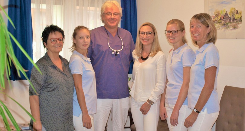 Das Team von Dr. Hans Kirisits in Bad Gams